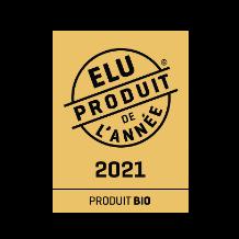 Elu produit bio de l'année 2021