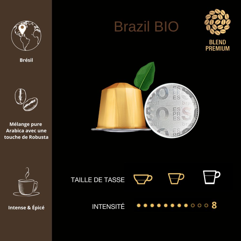 Capsule ESPRESSO Brazil BIO